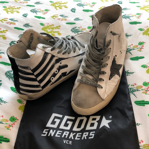 fb47535b7 Golden Goose Shoes - Golden Goose White Flag Francy Sneakers